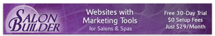 SalonBuilder Salon and Spa Websites (Load Email Images to See Preview)