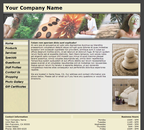 Standard Panoramic Yellow Website Design (121)