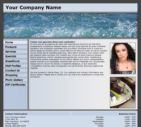 Standard Panoramic Blue Website Design (124)