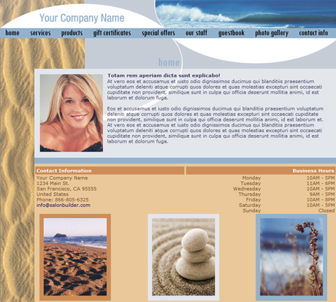 A Touch of Nature Beach Website Design (141)