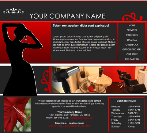 Fashion Red Website Design (166)