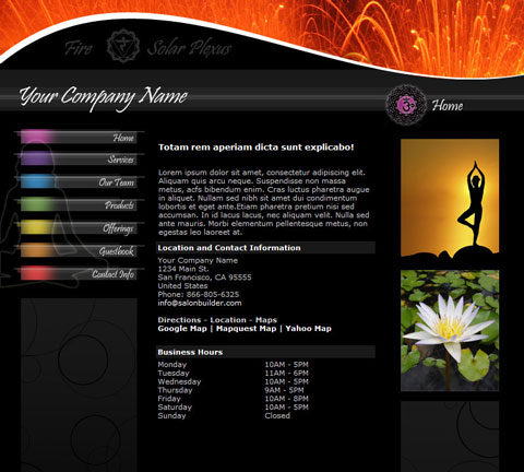 Chakra Black Website Design (211)