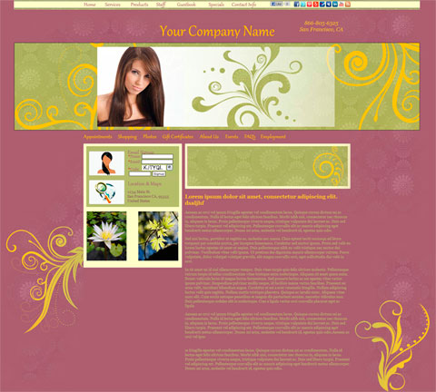 Flourishes Worldly Website Design (271)