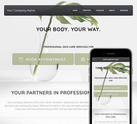 Solid Organic Website Design (832)