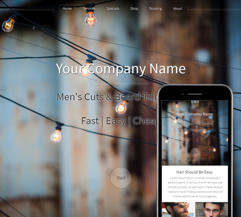 Hazel Wood and Metal Website Design (851)