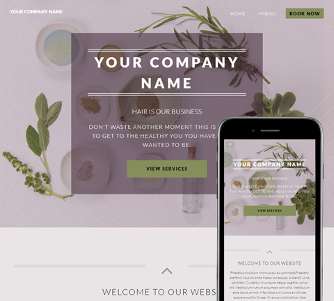 Dynamic Grey Website Design (873)