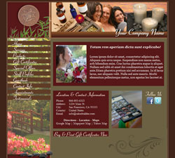 Zen Garden Red Website Design (12)