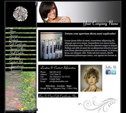 Flower Garden Black Website Design (13)