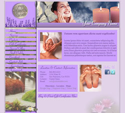 Botanical Garden Purple Website Design (16)