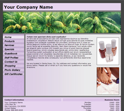 Standard Panoramic Purple Website Design (125)