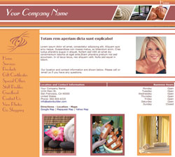 Sleek Simple Peach Website Design (152)