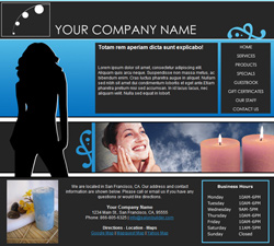 Fashion Blue Website Design (163)