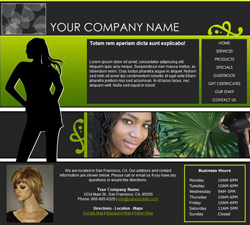 Fashion Green Website Design (164)