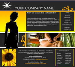 Fashion Yellow Website Design (165)
