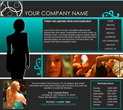 Fashion Teal Website Design (167)