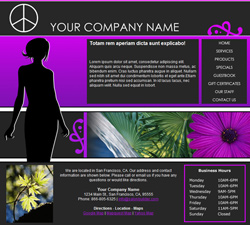 Fashion Purple Website Design (168)