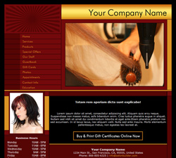 Professional Red Website Design (226)