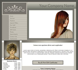 Professional Gray Website Design (227)