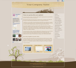 Oasis Brown Website Design (241)