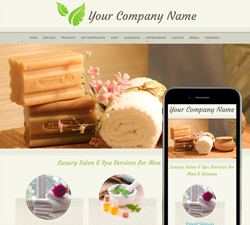Natural Spa Website Design (251)