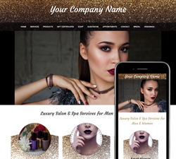 Glitter Nails Website Design (252)