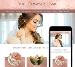 RoseGold Wedding Website Design (256)