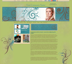 Flourishes Edgy Lime Website Design (272)