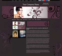 Flourishes Modern Grey Website Design (275)