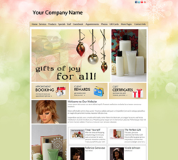 Holiday Joy Website Design (710)