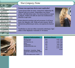 Textured Aqua Light Website Design (82)