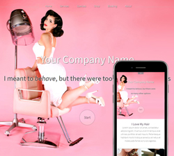 Hazel Pinup Website Design (852)