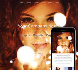 Hazel Vivid Beauty Website Design (853)