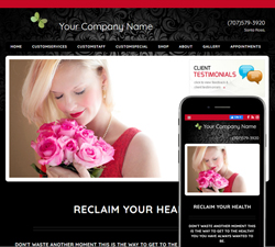 Inspire Action Black Website Design (881)