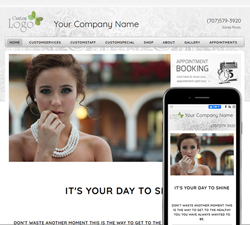Inspire Calm White Website Design (882)