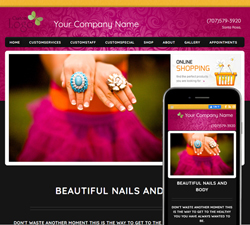 Inspire Fun Pink Website Design (884)