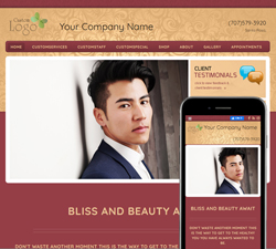 Inspire Elegance Cranberry Website Design (887)
