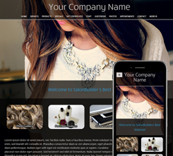 Stylish Salon Website Design (91)