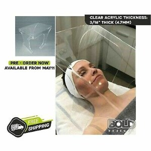 Plexiglass Facial Available for Safety Photo