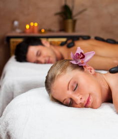Couples Full Body Intuitive - Lymphatic Massage Therapy + Back facial + Rejuvenation facial.